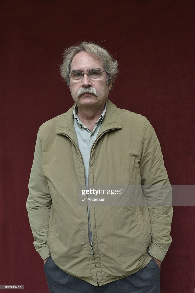 PARIS, FRANCE - SEPTEMBER 19. Spanish writer Jaume Cabre poses during portrait session on september 19, 2013 in Paris, France.
