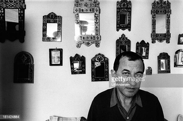 Spanish writer Juan Goytisolo poses during a portrait session held on February 4 1985 in Paris France