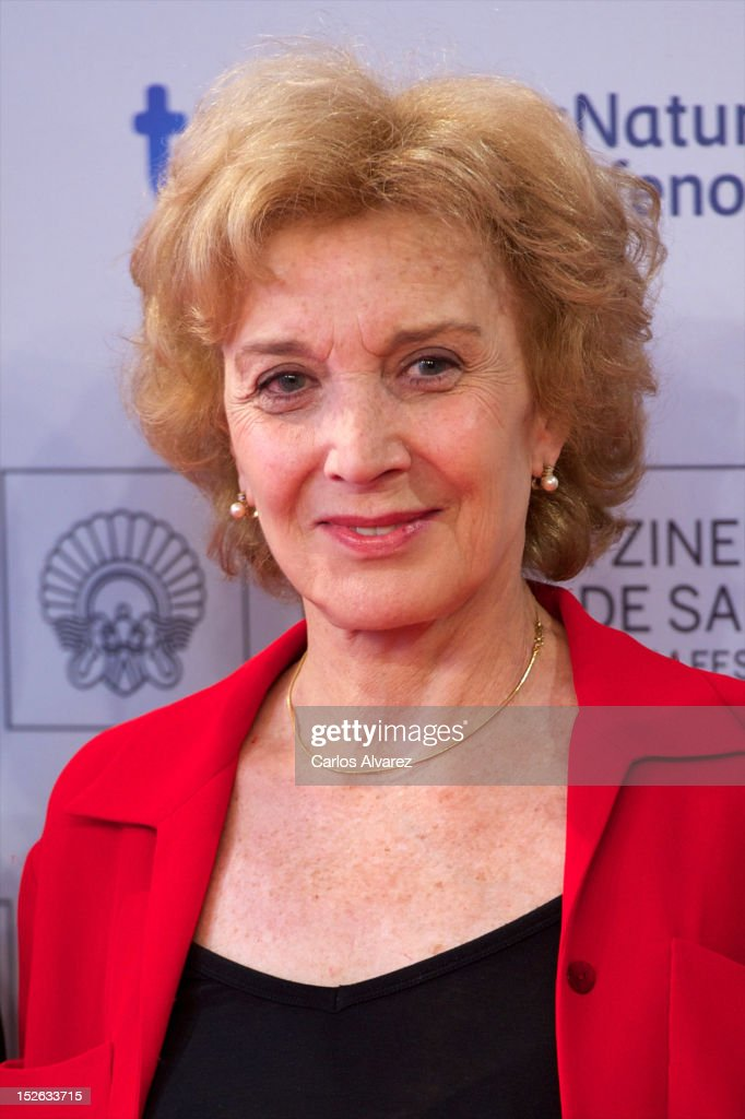Spansih actress <a gi-track='captionPersonalityLinkClicked' href=/galleries/search?phrase=Marisa+Paredes&family=editorial&specificpeople=637189 ng-click='$event.stopPropagation()'>Marisa Paredes</a> attends the 'As Linhas De Torres' photocall at the Kursaal Palace during the 60th San Sebastian International Film Festival on September 23, 2012 in San Sebastian, Spain.