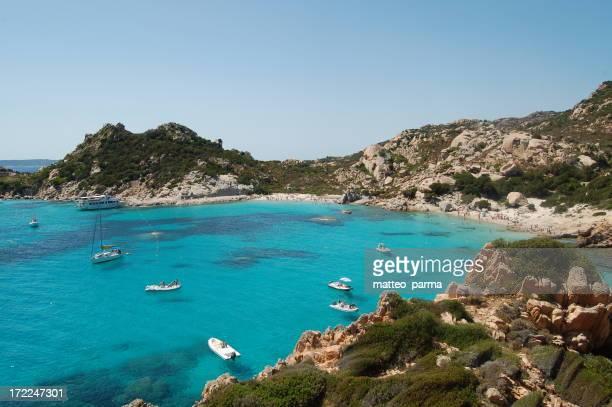 Spargi Plage in Sardinien