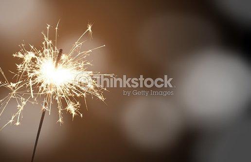 sparkler - New Year's Eve : Stock Photo