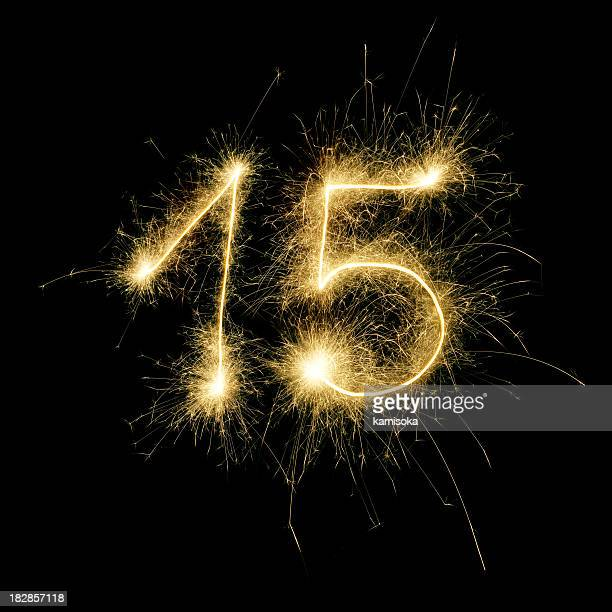 Sparkling Celebration Number Fifteen
