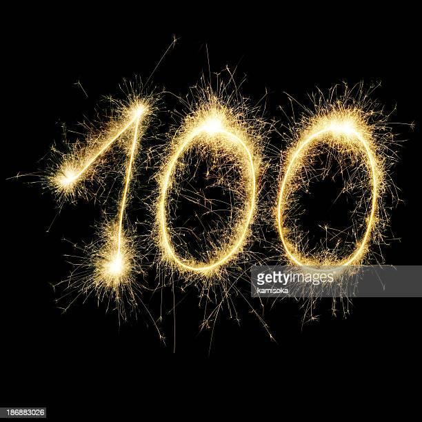 Sparkling Celebration Number Hundred