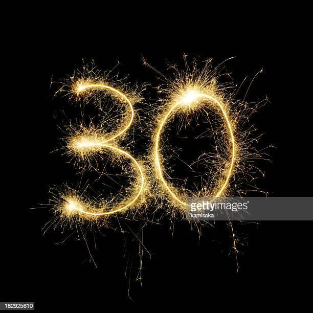 Resplandeciente celebración número 30
