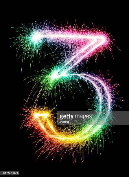 Sparkling Number 3