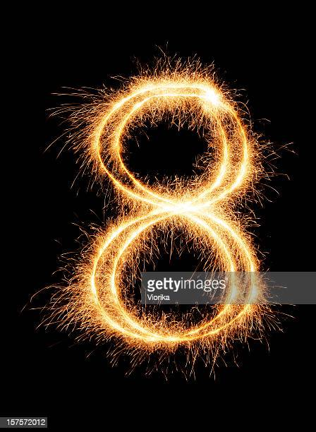Sparkling Number 8