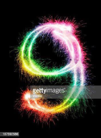 Sparkling Number 9
