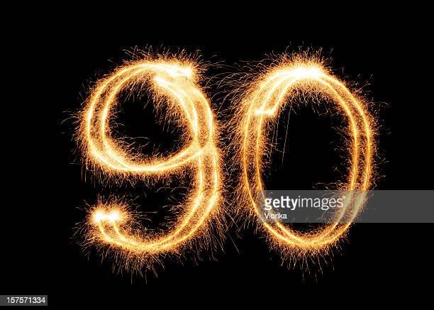 Sparkling Number 90 (XXL)