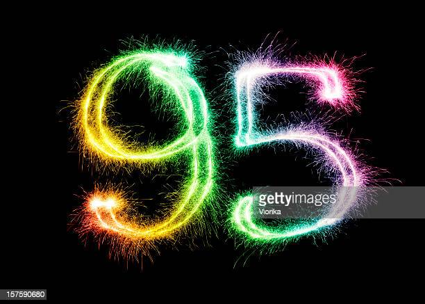 Sparkling Number 95 (XXL)