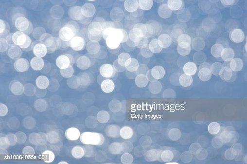 Sparkling sea water (defocused) : Stock Photo