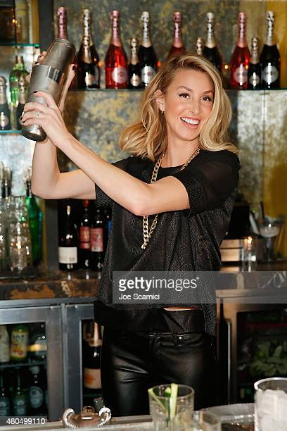 Sparkling Wines and Whitney Port have a Cocktail Tasting at The Library Bar at The Redbury Hotel on December 12 2014 in Los Angeles California