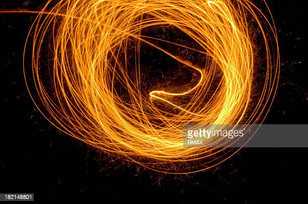 Sparks, Lagerfeuer am Abend