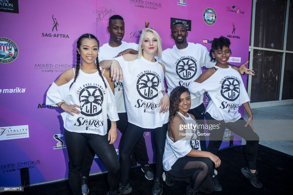 LA Sparks Dance Crew attend the 10th Annual Action Icon Awards at Sheraton Universal on October 22, 2017 in Universal City, California.