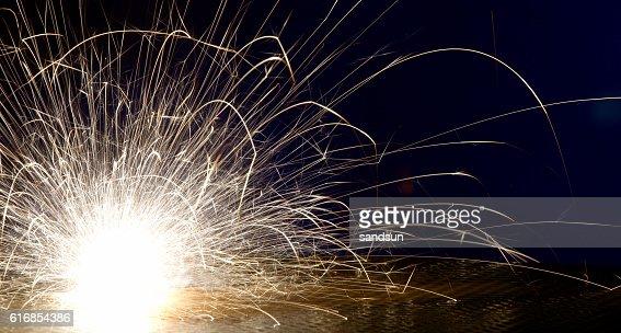 sparks : Stock Photo