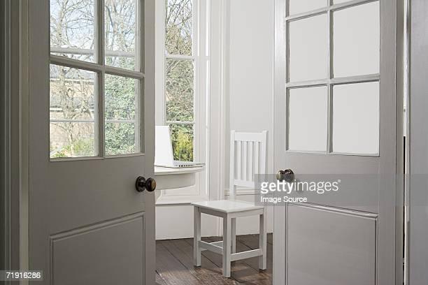 Chichement chambre décorée