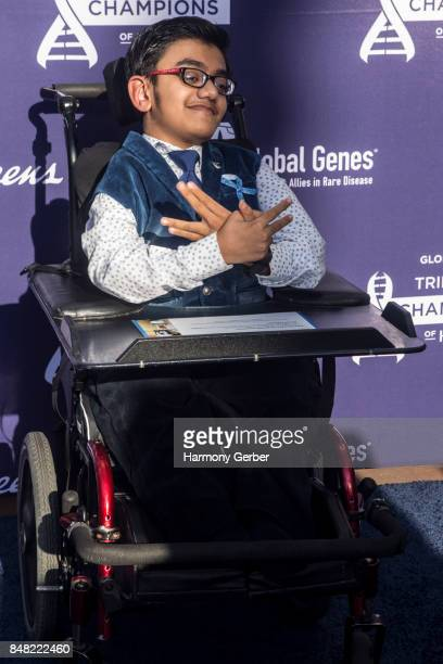 Sparsh ShahPurhythm attends the Global Genes' 6th Annual Tribute To Champions Of Hope Awards at City National Grove of Anaheim on September 16 2017...