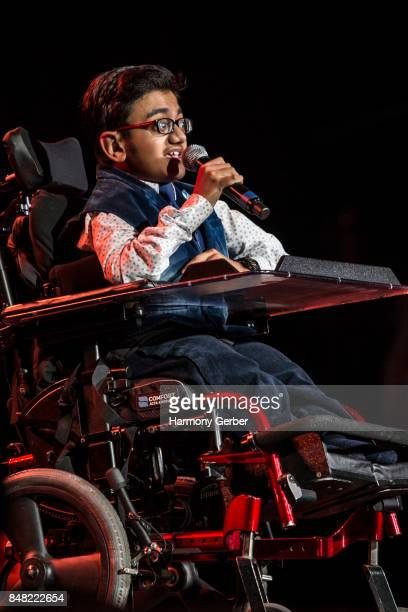 Sparsh ShahPurhythm performs at the Global Genes' 6th Annual Tribute To Champions Of Hope Awards at City National Grove of Anaheim on September 16...