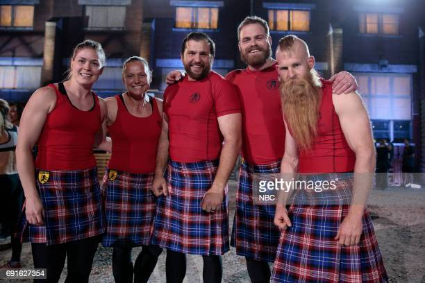 CHALLENGE 'Spartan Ultimate Team Challenge Premiere' Episode 202 Pictured Katie Crowley Adriane Wilson Nathan Burchett Daniel McKim Joseph Casilio of...