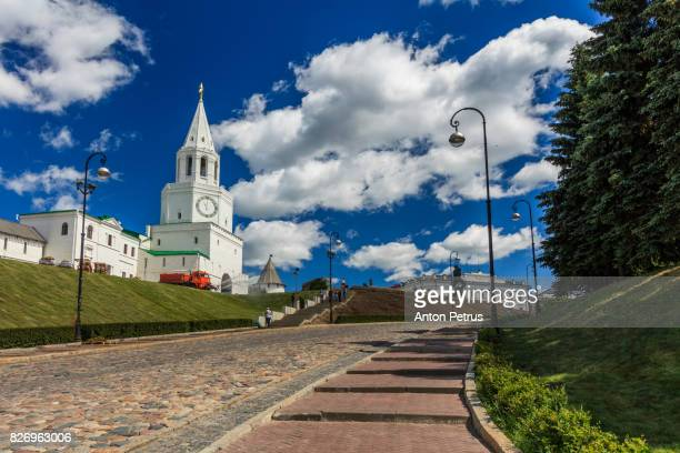 Spasskaya tower in Kazan Kremlin