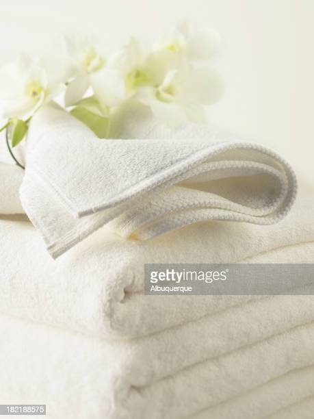 Spa-Stack of Towels