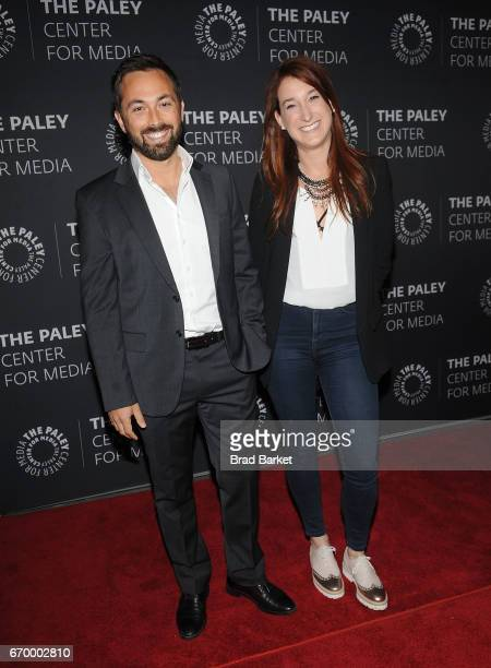 Speacial Correspondent Derek Muller and Joanna Housmann attend The Paley Center For Media presents 'Bill Nye Saves The World' screening and QA at The...