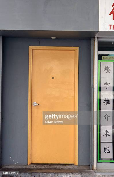 A ' speakeasy ' or illegal restaurant on Hong Kong Island