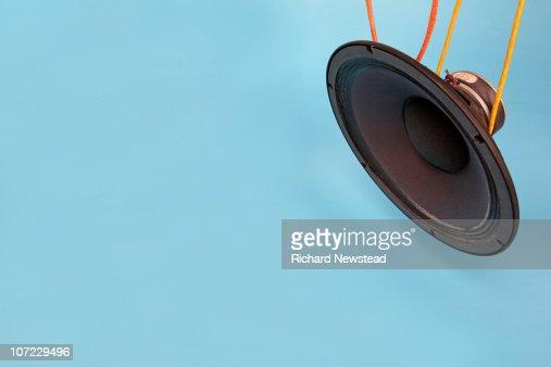 Speaker Cone : Foto de stock