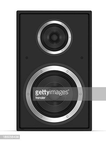 Speaker front view