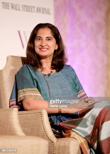 Speaker Mallika Chopra speaks onstage during the Visionary Women's Salon Mind Body and Soul at Montage Beverly Hills on March 30 2017 in Beverly...