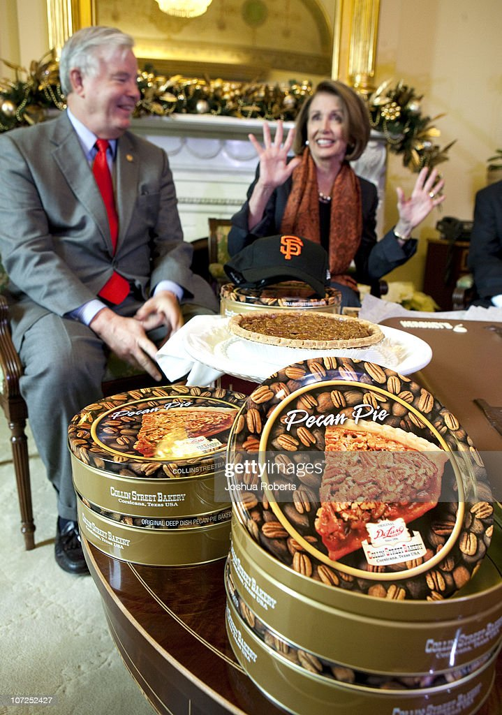 Nancy Pelosi Cashes In On World Series Wager With Fellow Congresspeople