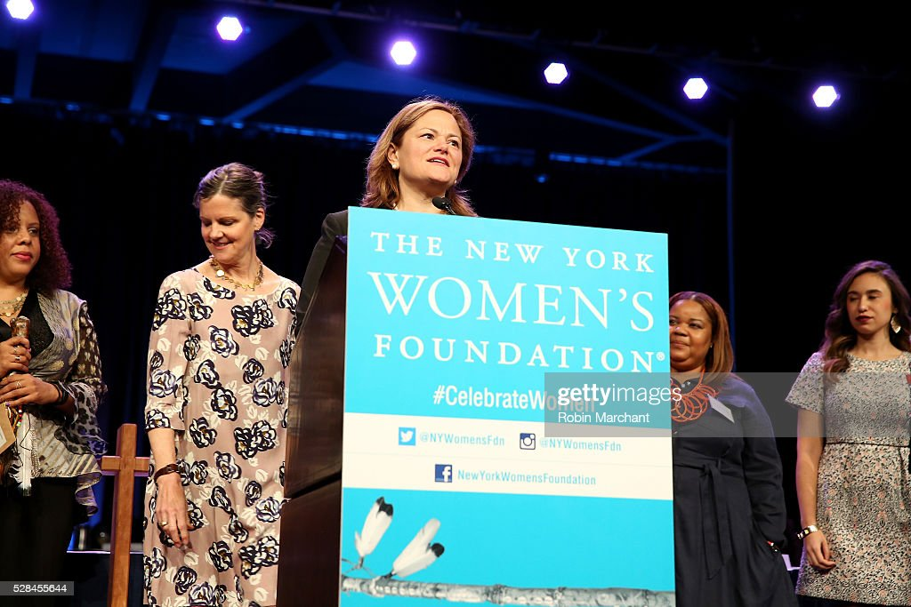 Speaker of the New York City Council Melissa Mark-Viverito speaks on stage during The New York Women's Foundation's 2016 celebration womens breakfast on May 5, 2016 in New York City.