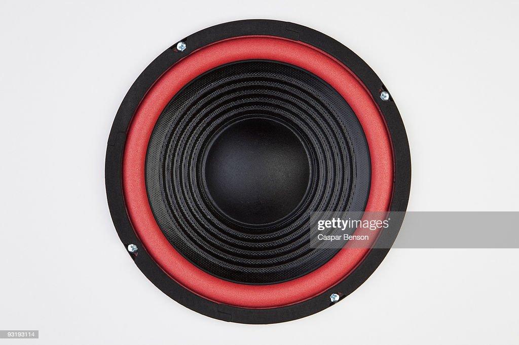 A speaker : Stock Photo