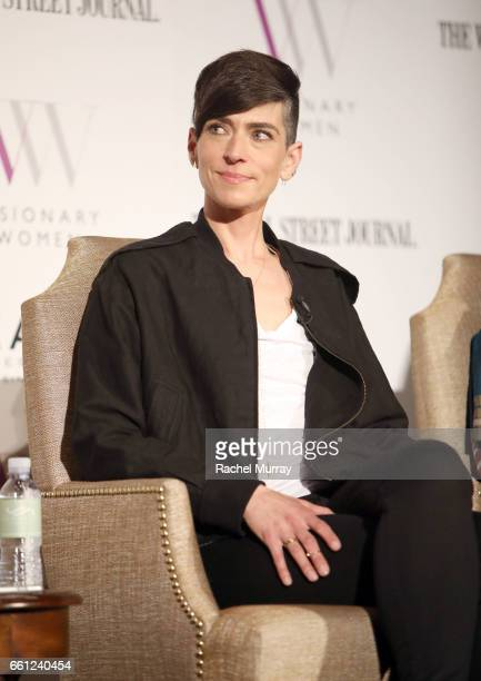 Speaker Samantha Paige speaks onstage during the Visionary Women's Salon Mind Body and Soul at Montage Beverly Hills on March 30 2017 in Beverly...
