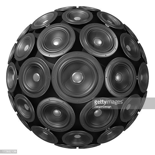 Sphère avec haut-parleur