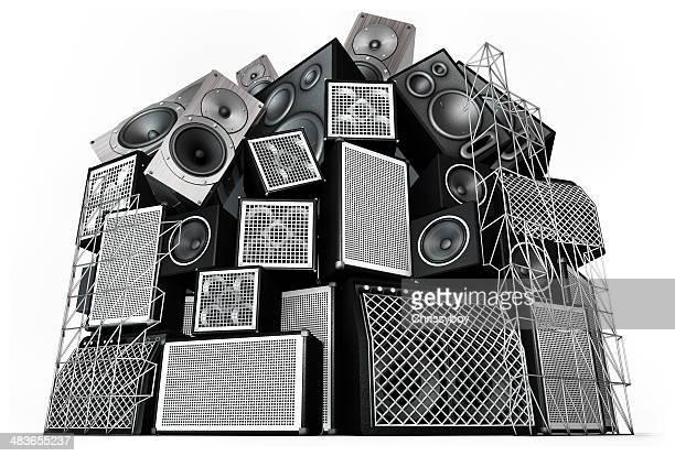 Lautsprecher Stack