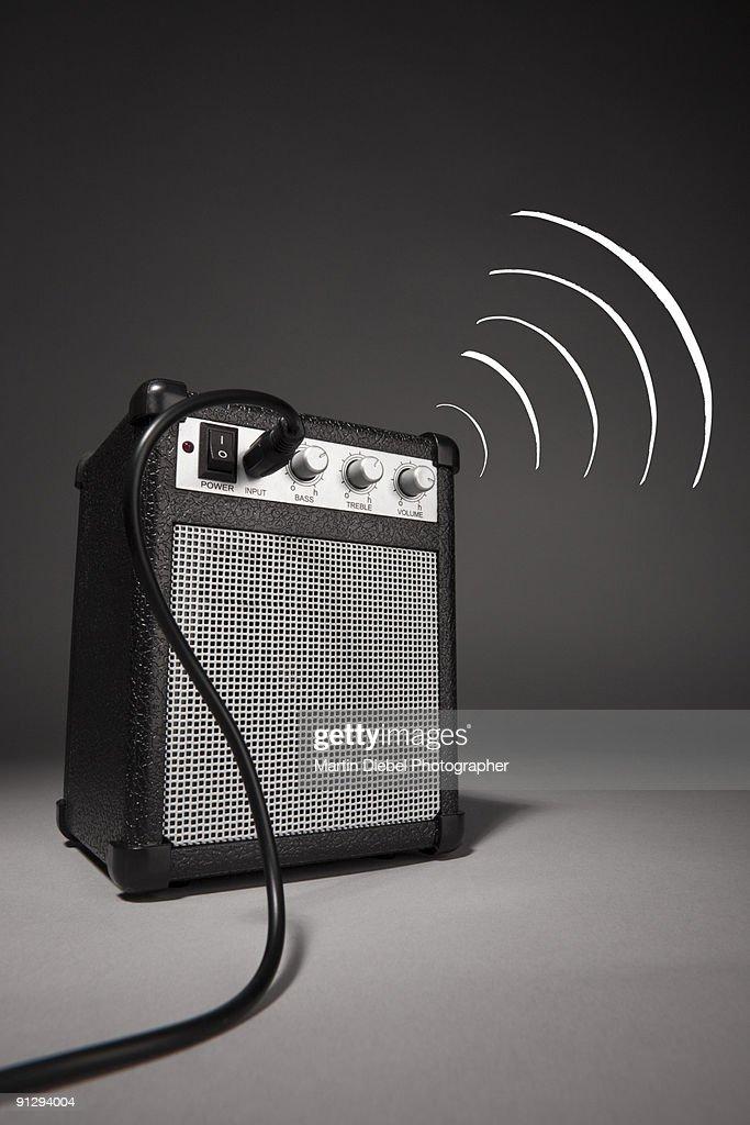 Speaker to me : Stock Photo