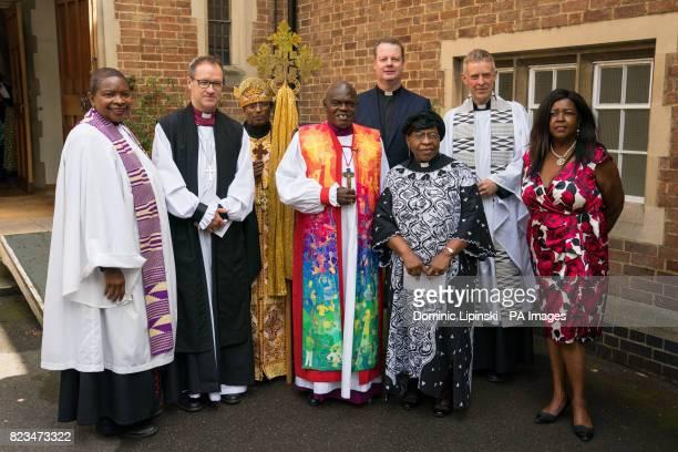 Speaker's Chaplain Rev Preb Rose HudsonWilkin Bishop of Kensington Rt Revd Graham Tomlin Father Georgis Dimts of St Gabriel's Ethiopian Orthodox...
