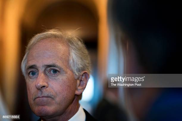 WASHINGTON DC Speaking to reporters just off the Senate floor Senator Bob Corker will not be running for re election in 2018 on Capitol Hill in...