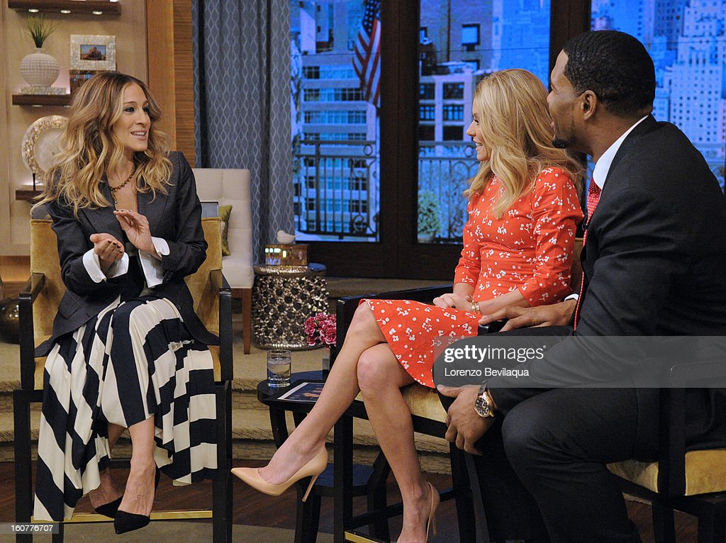 """PARKER speaks about her latest role in the film """"Escape From Planet Earth,"""" on the newly-rechristened syndicated talk show, LIVE with Kelly and Michael,' distributed by Disney-ABC Domestic Television. SARAH"""