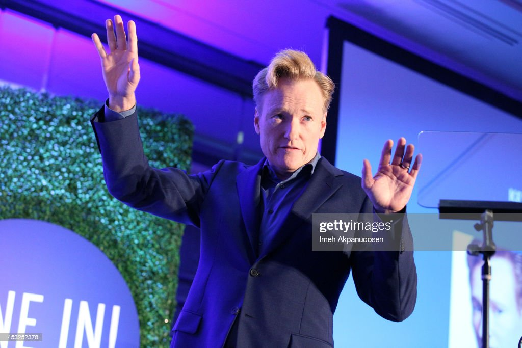 speaks onstage at the Keynote Conversation during Tune In! Variety's TV Summit at Intercontinental Century City on August 6, 2014 in Century City, California.