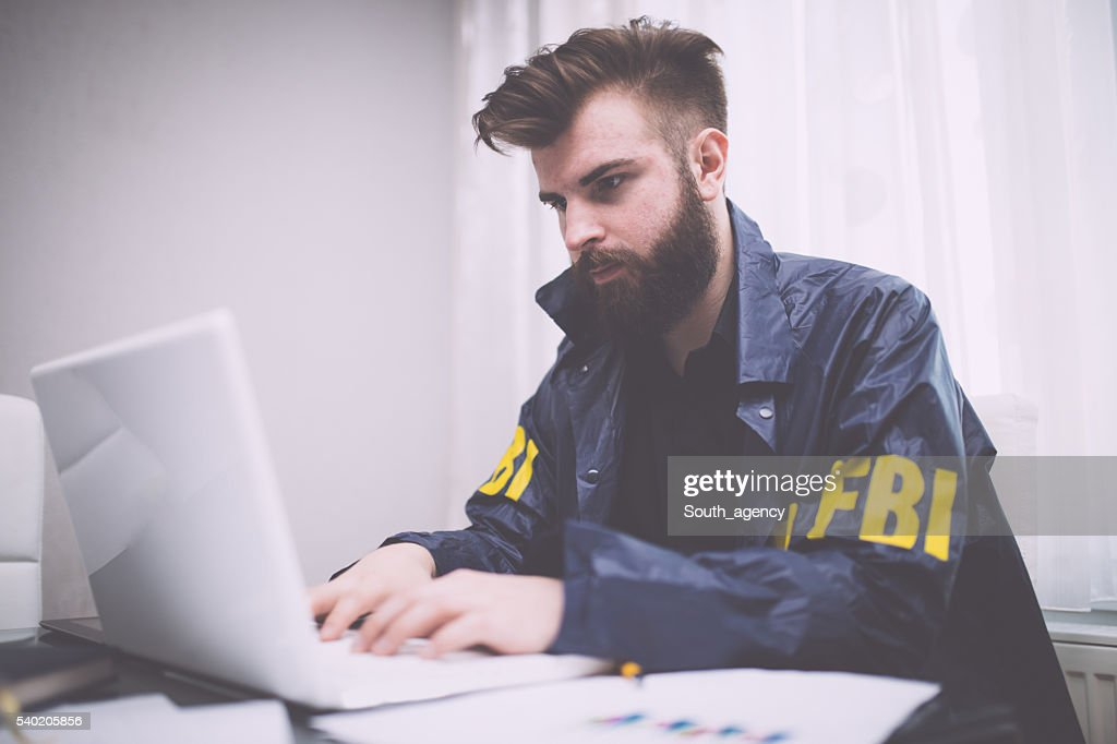 Special agent : Stock Photo