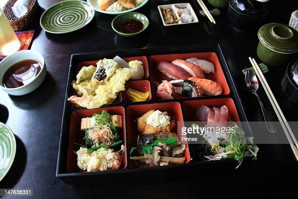 Special bento box lunch set