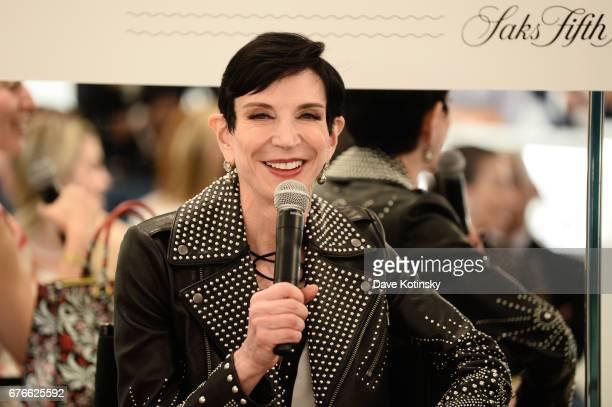 Special Correspondent to Vanity Fair Amy Fine Collins speaks as Saks Fifth Avenue and Vanity Fair Celebrate the 2017 International BestDressed List...