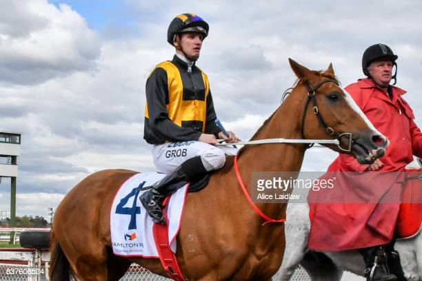 Special Diva ridden by Jordan Grob returns to scale after winning the Hamilton Reid Chartered Accountants Handicap at Ladbrokes Park Hillside...