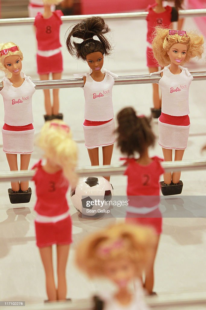 Barbie Special Edition Table Football For FIFA Women's ...
