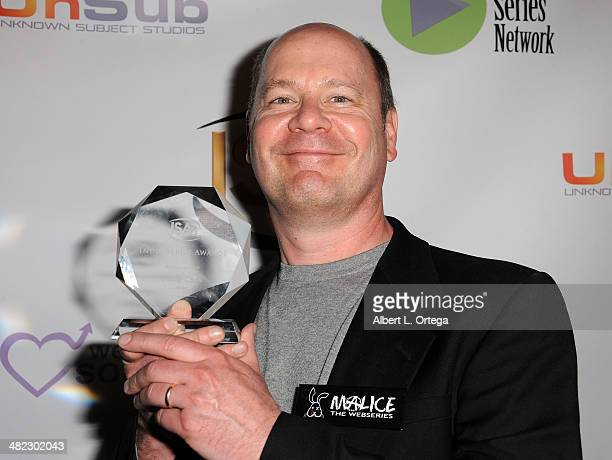 Special Effects Artist Phil Cook Best Special Effects for 'Malice' attends 5th Annual Indie Series Awards held at El Portal Theatre on April 2 2014...