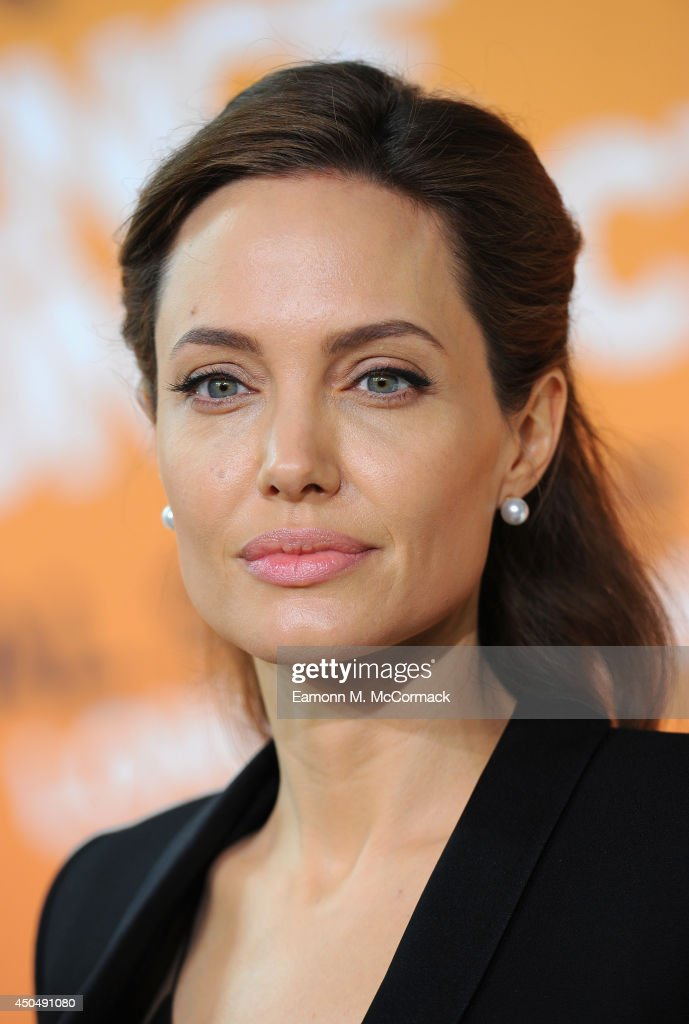 UN Special Envoy and actress Angelina Jolie attends the Global Summit to End Sexual Violence in Conflict at ExCel on June 12, 2014 in London, England. The four-day conference on sexual violence in war is hosted by Foreign Secretary William Hague and UN Special Envoy and actress Angelina Jolie.