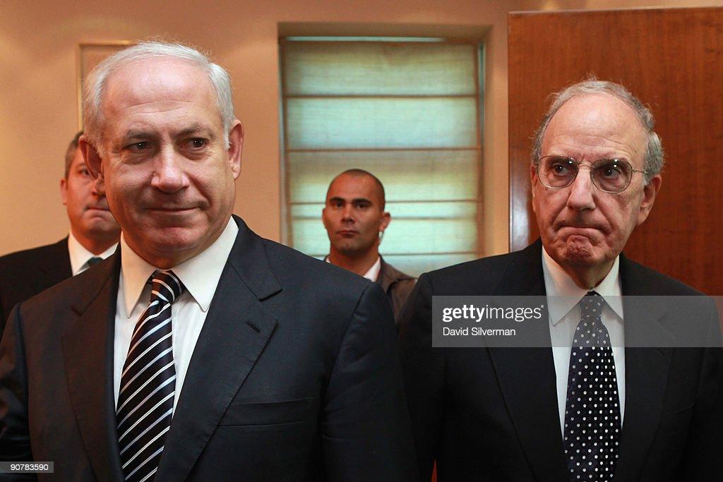 American Special Envoy George Mitchell Meets Israeli Leadership