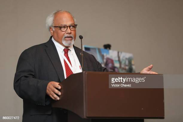 Special Envoy on Tuberculosis Dr Eric Goosby speaks during the TB Alliance Stakeholders Association Annual Meeting at the Union World Conference on...