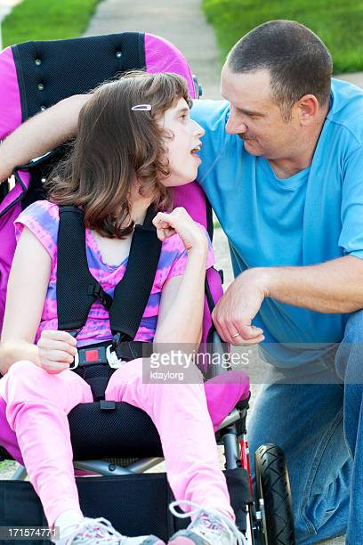 Padre figlia momento speciale